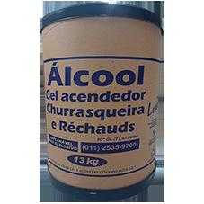 ÁLCOOL GEL ACENDEDOR LUAR 13KG